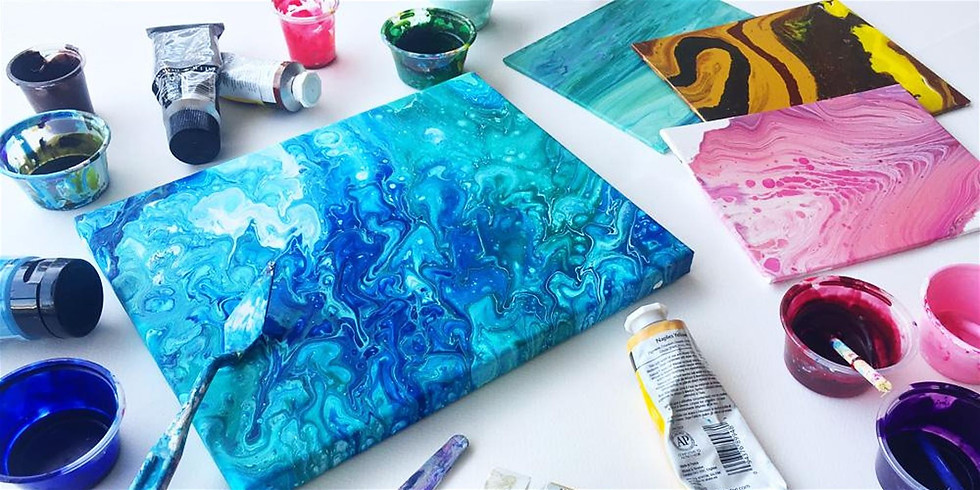 Intro to Acrylic Pours