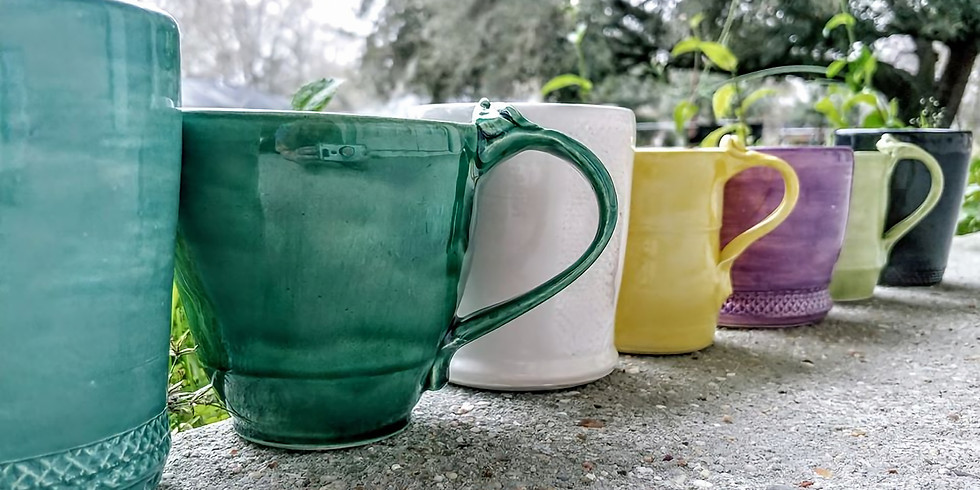 Pottery: Create-Your-Own Cup, Quick Class!