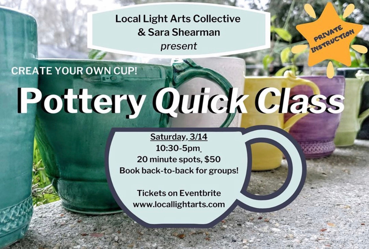 POTTERY: Create Your Own Cup!