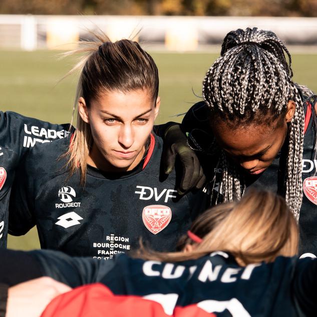 Fleury vs DFCO féminin 2018