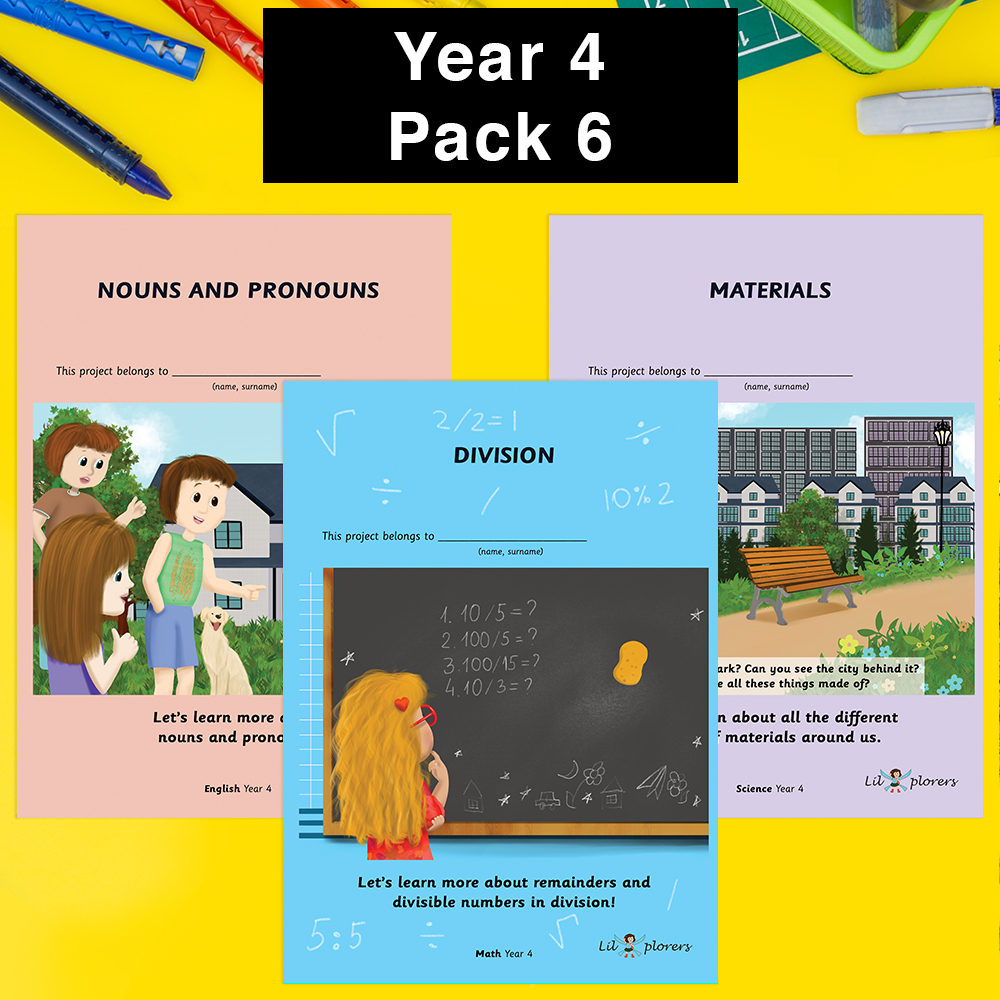 Year 4 Pack 6