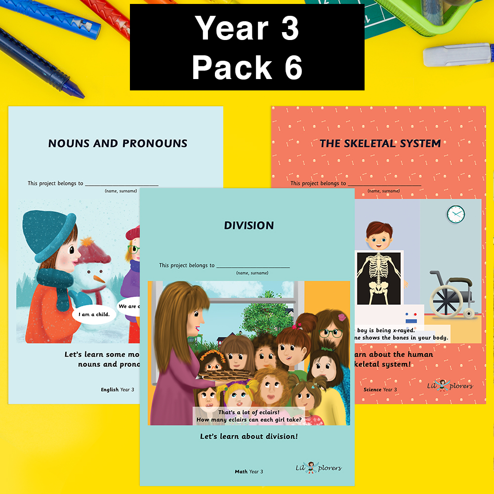 Year 3 Pack 6