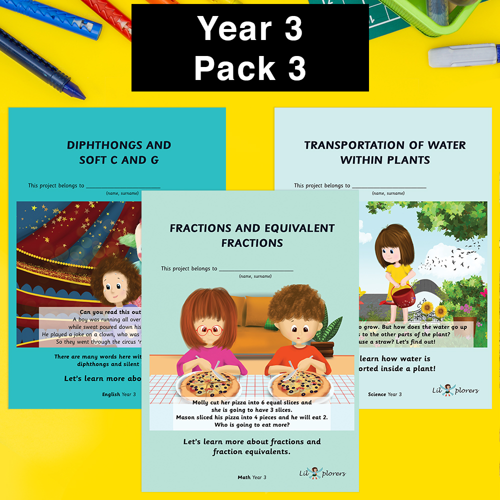Year 3 Pack 3