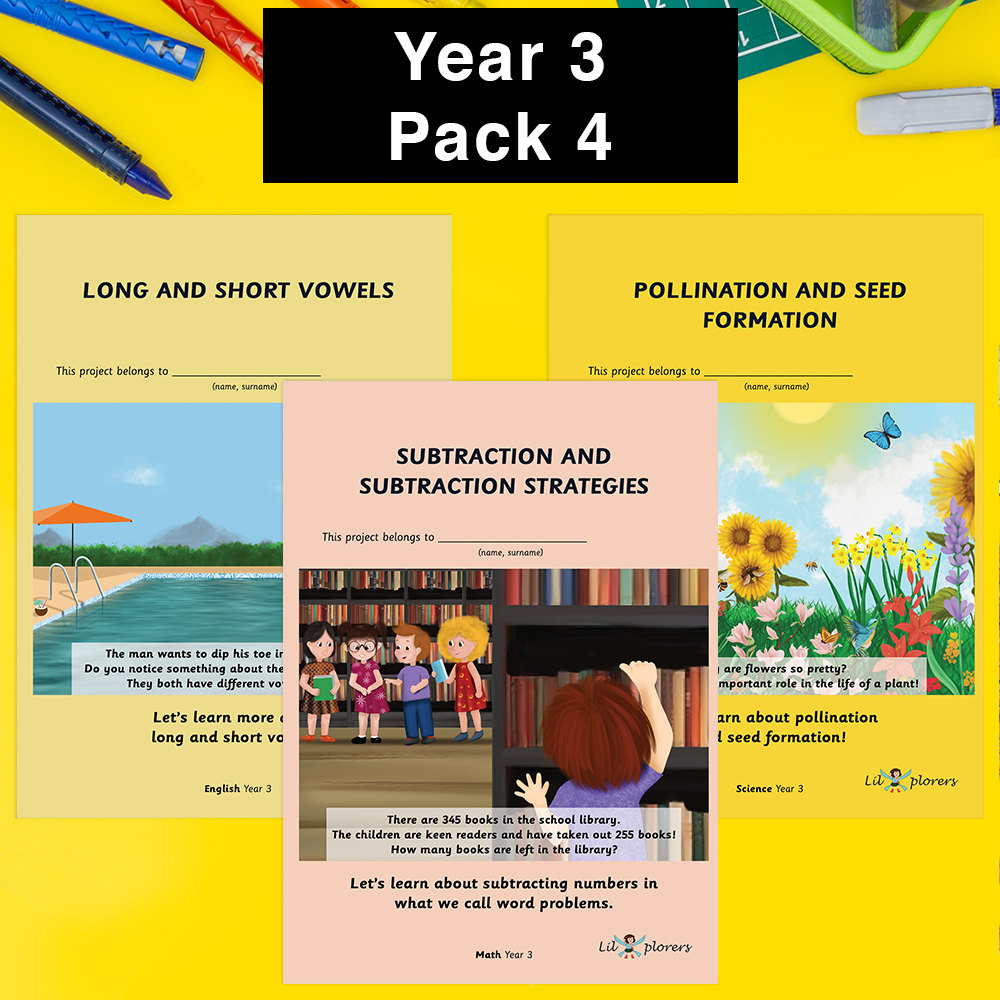 Year 3 Pack 4
