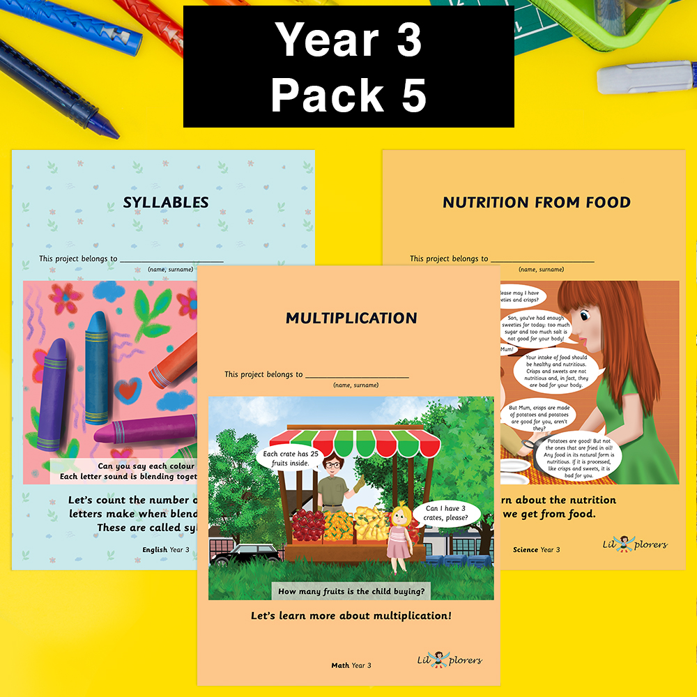 Year 3 Pack 5