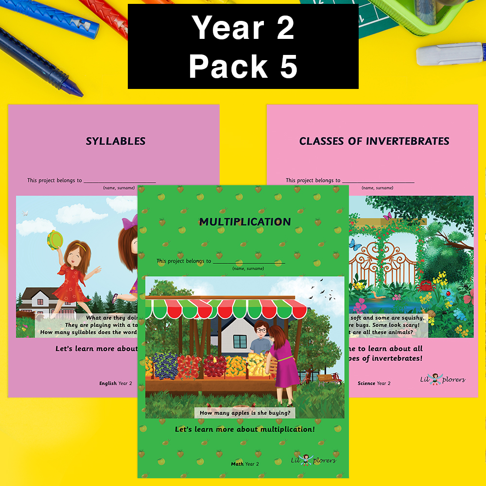 Year 2 Pack 5