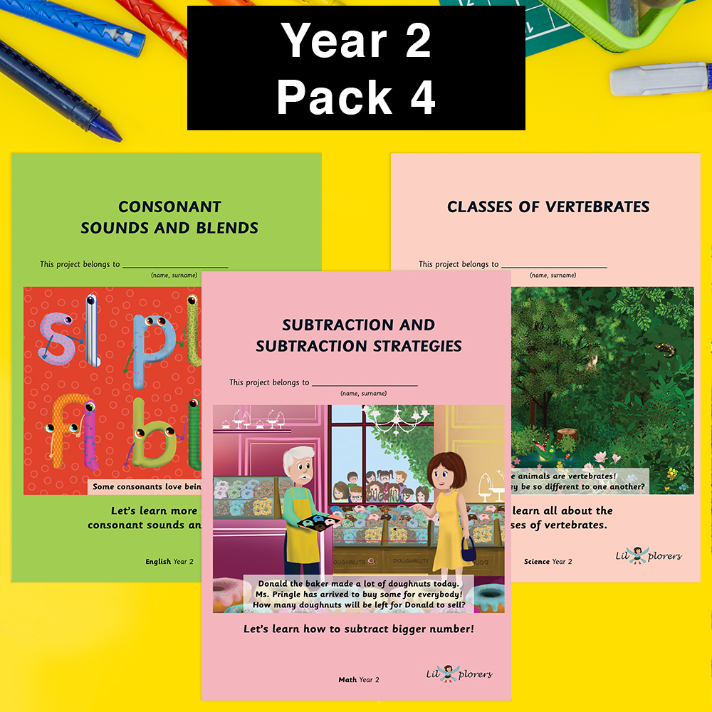 Year 2 Pack 4