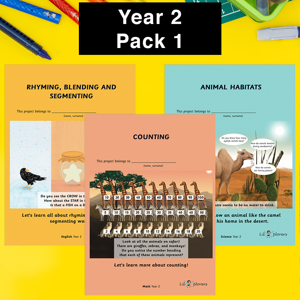 Year 2 Pack 1