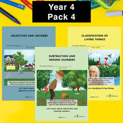 Year 4 Pack 4