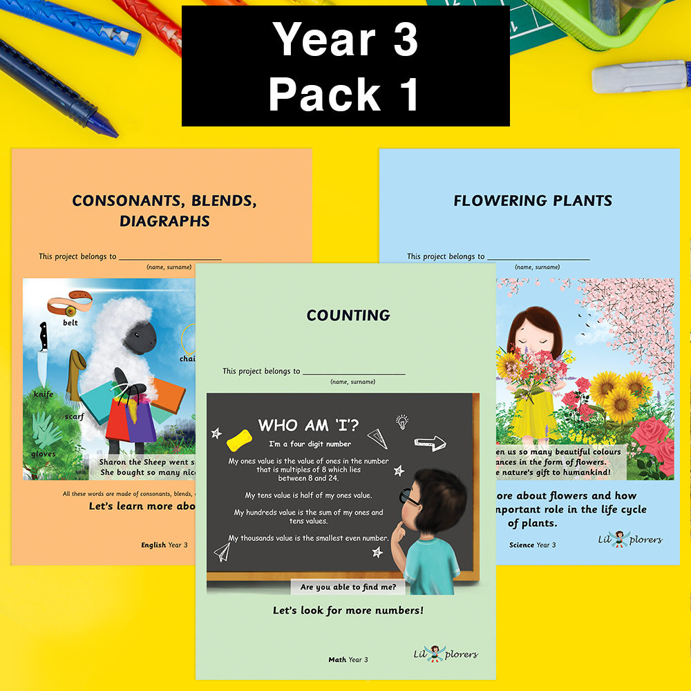Year 3 Pack 1