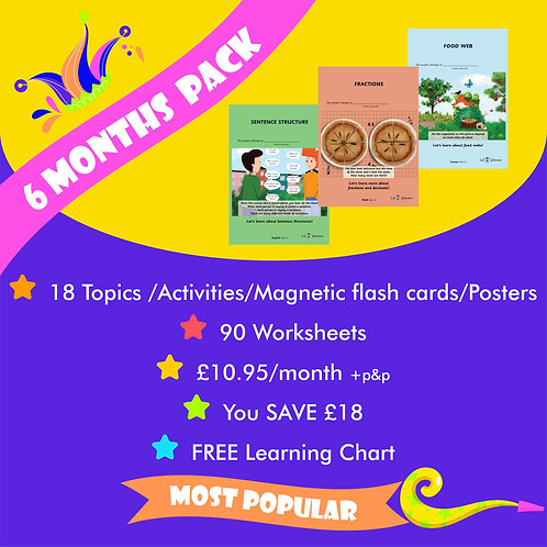 Year 4 Six Months Pack