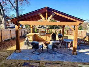 Outdoor Structure Install