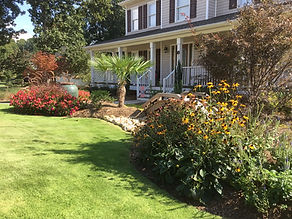 Residential Maintenance of plants shrubs turf