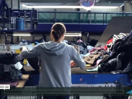 Textiles sorting machine unveiled