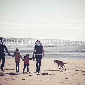 Burton Family Shoot - Newton Beach