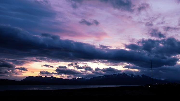 Sunset at Ushuaia