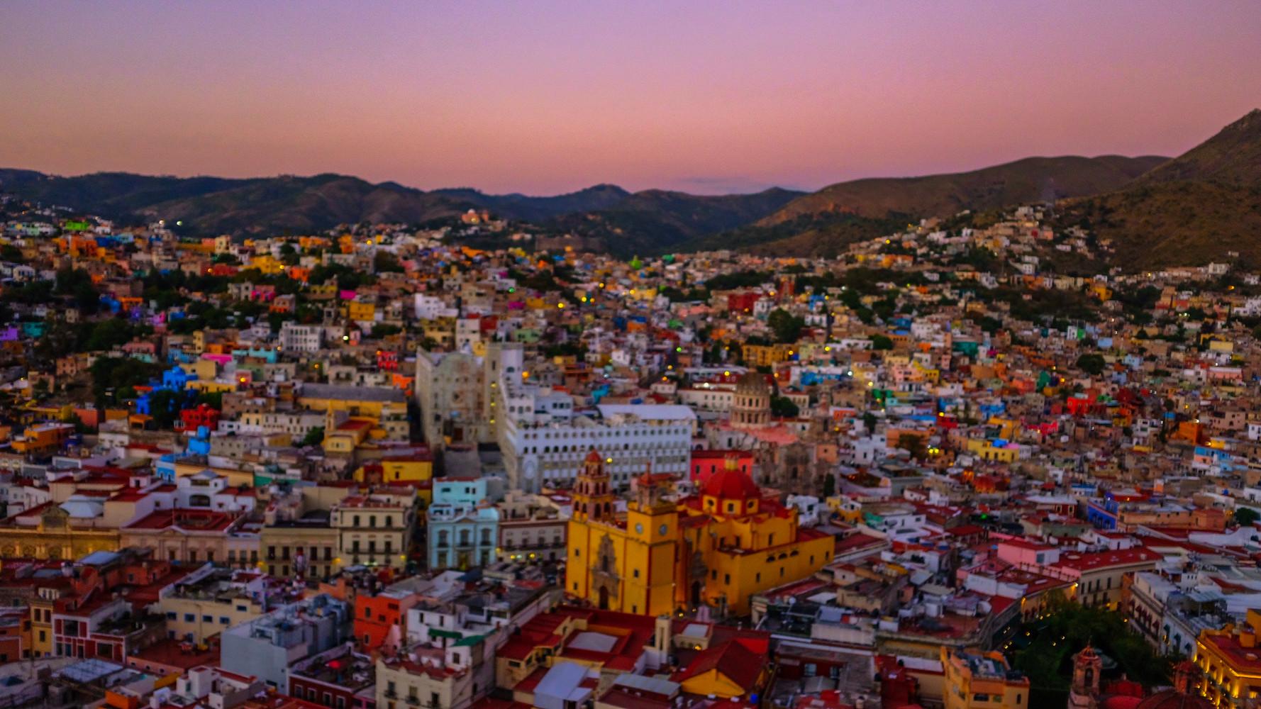 Sunset at Guanajuato
