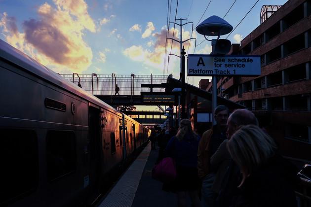 Sunset at Huntington