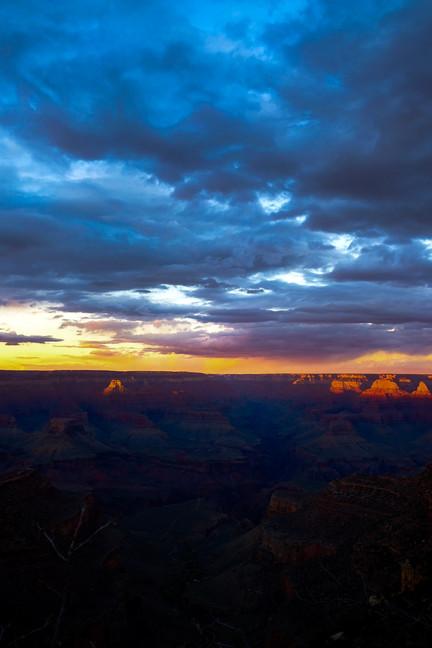 Sunset at Great Canyon