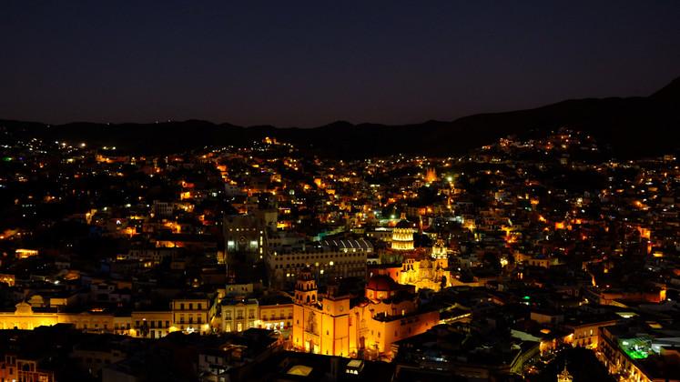Night at Guanajuato