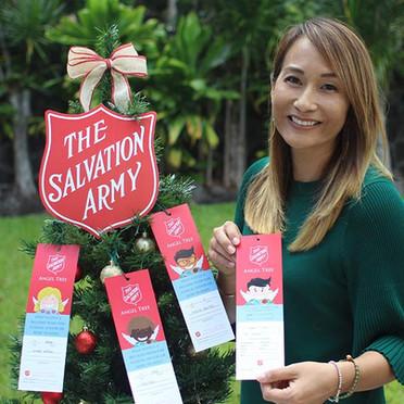 Salvation Army Angel Tree at KMC