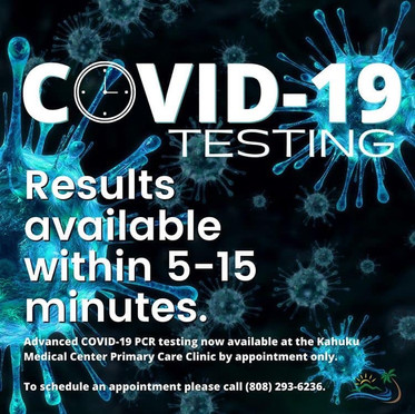 Innovative COVID-19 Testing Available at KMC