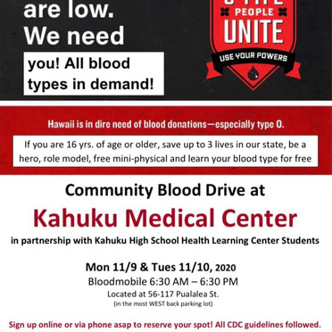 You're Invited! Two Day Blood Drive at KMC