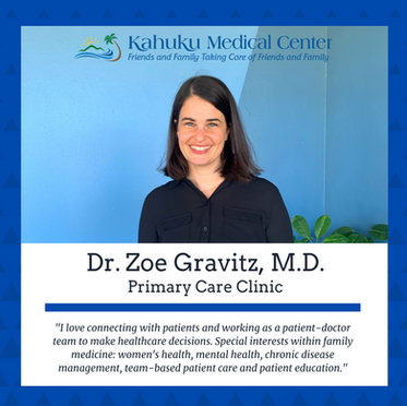 KMC Welcomes New Physician to Primary Care Clinic, Dr. Zoe Gravitz, M.D.