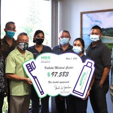 KMC Dental Clinic Awarded 2021 HDS Grant