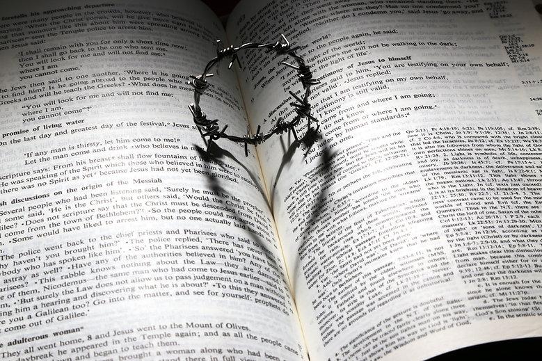 Canva - Love, Died, Cross, Thorns, Crown