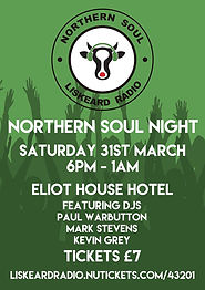 liskeard radio northern soul night poste