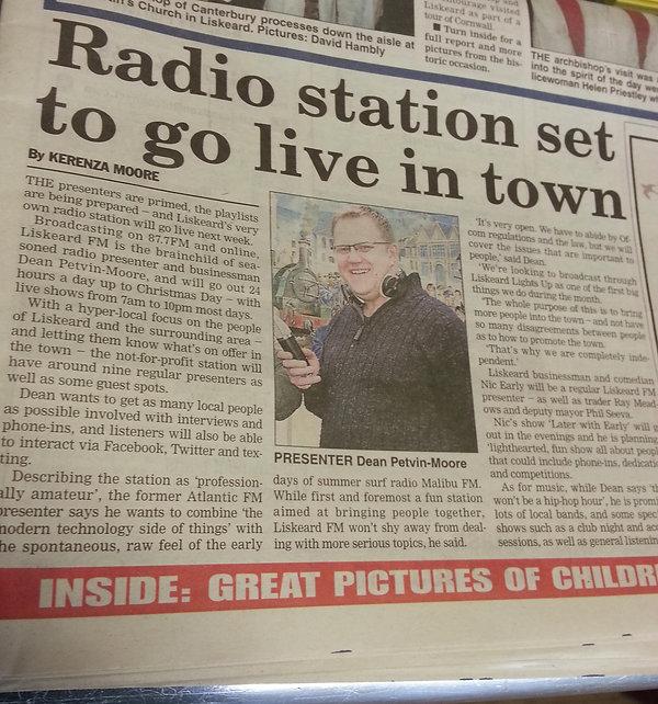 2013 November - Cornish Times - .jpg