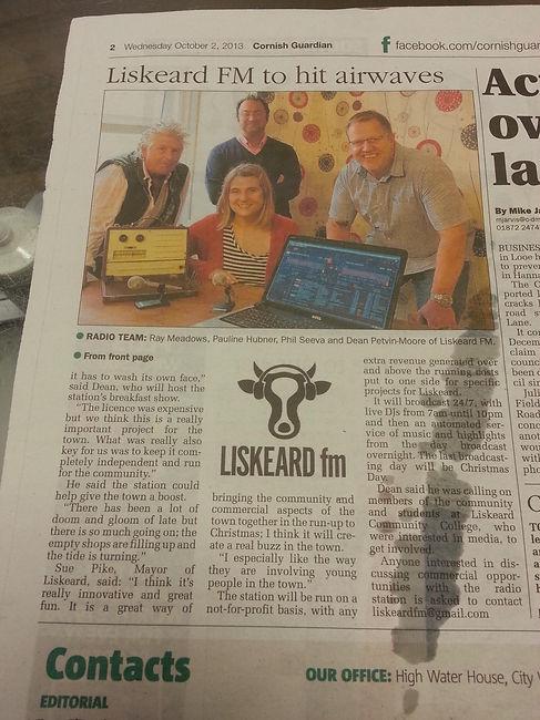 2013-10-02 Cornish Guardian 2.jpg