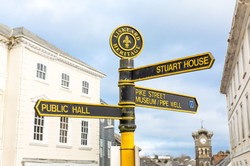 Liskeard signpost