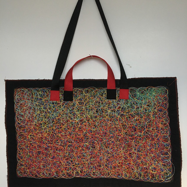 """""""Sunrise"""" Structually Embroidered Laptop Case"""