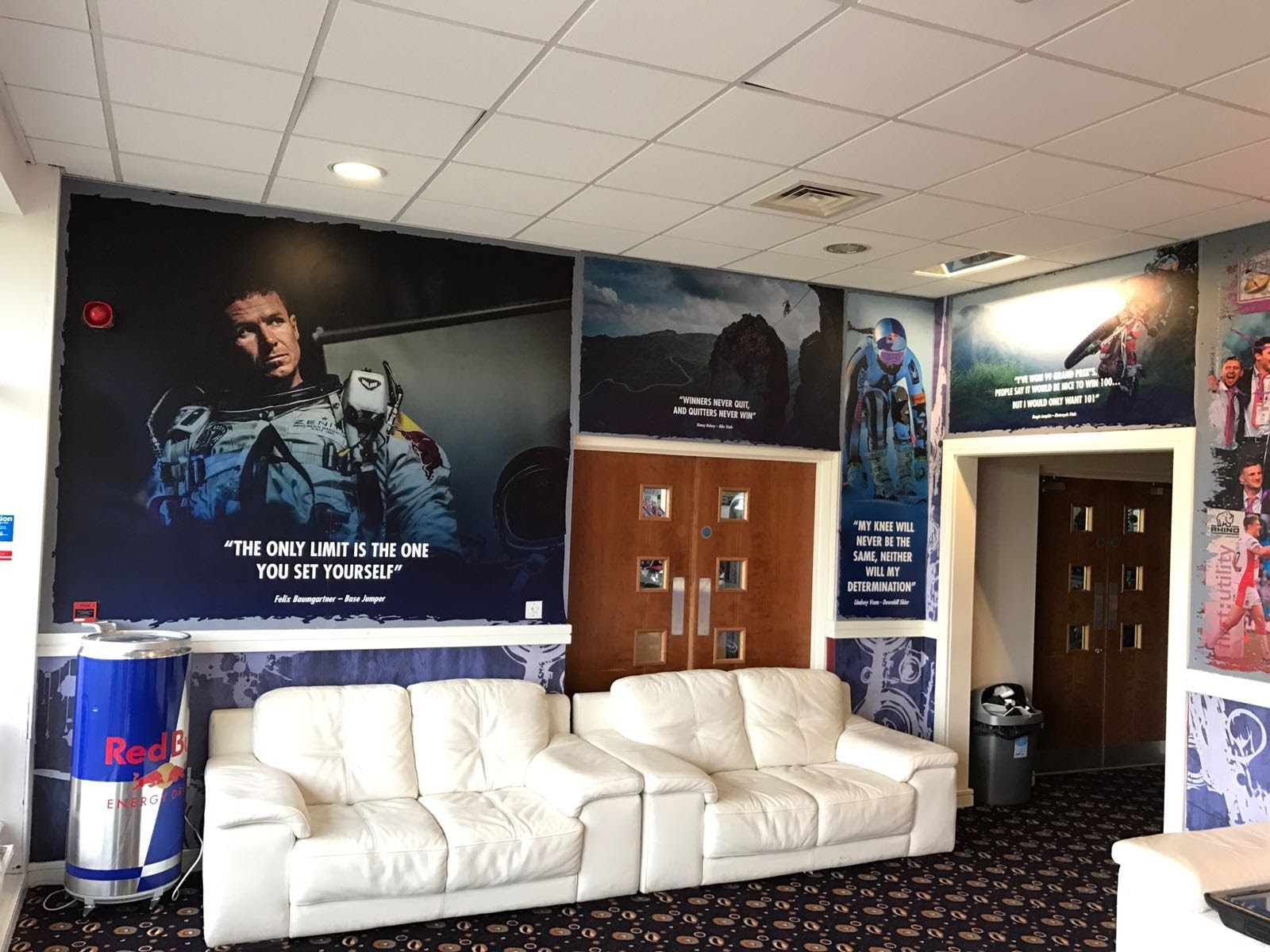 Wigan Warriors Red Bull Room