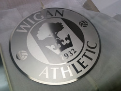 Wigan Athletic Etched Crest