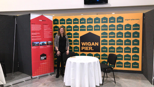 Wigan Pier Exhibition Branding