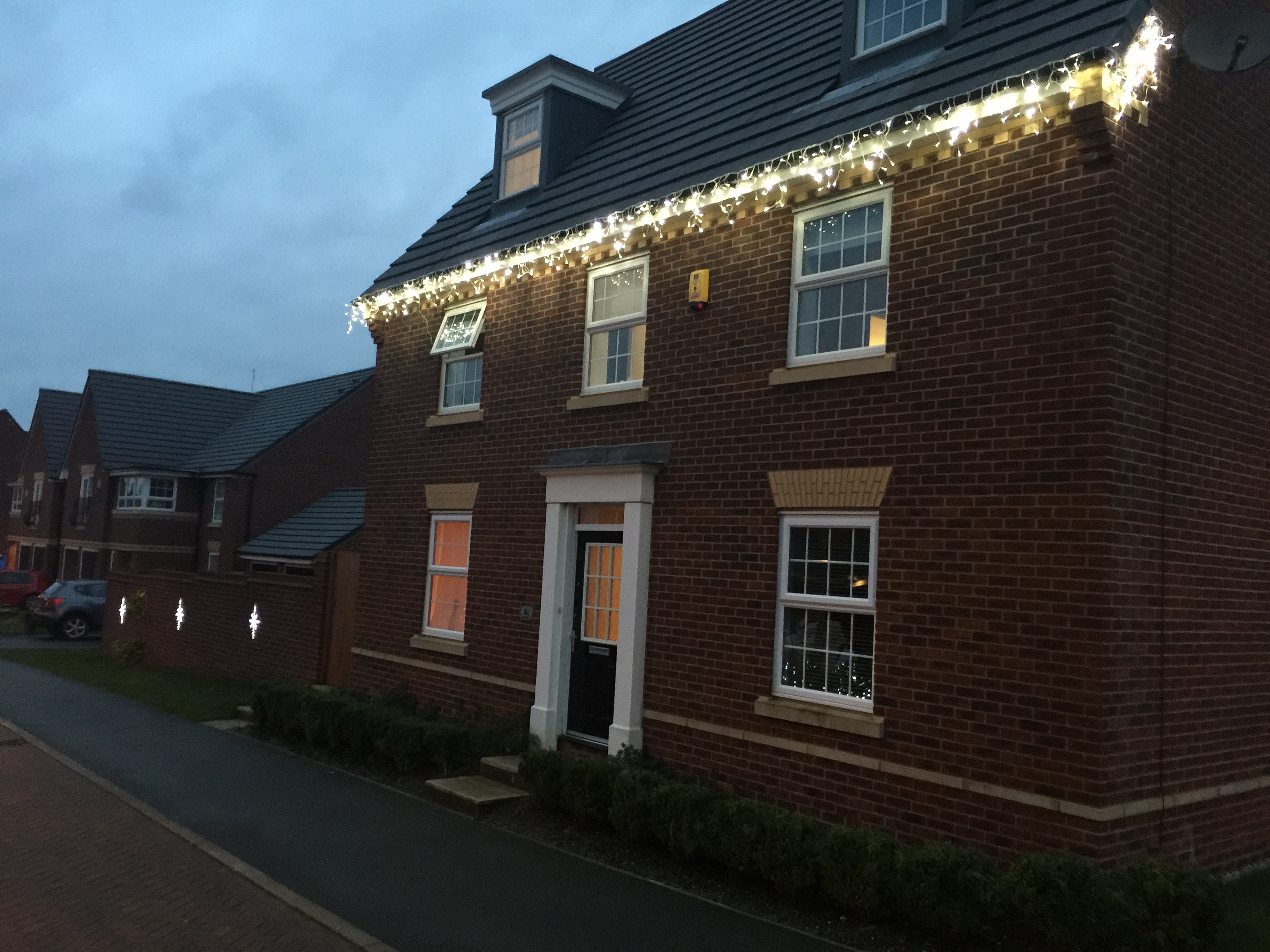 Christmas Lights, Buckshaw Village