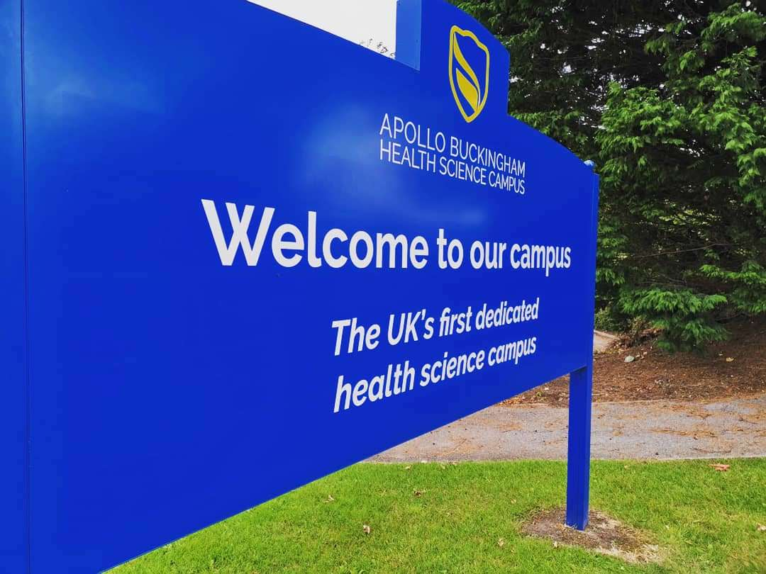 Apollo Buckingham Campus Signage