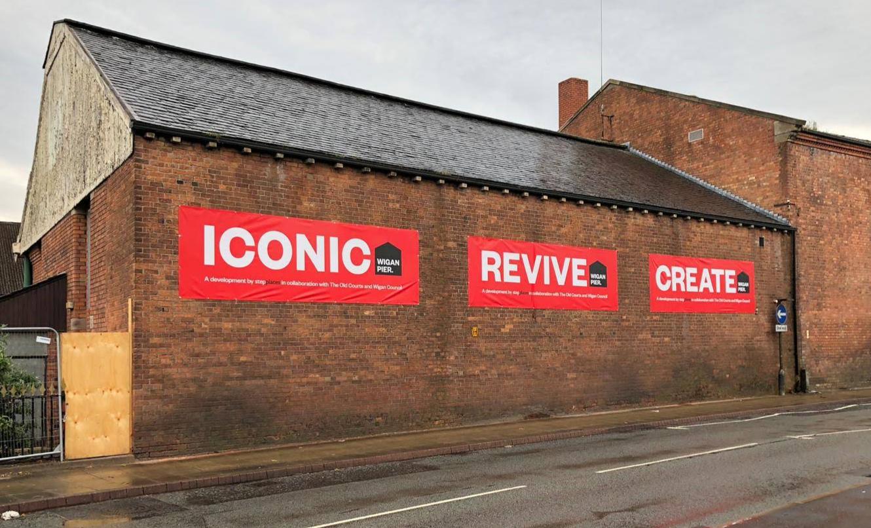 Wigan Pier Redevelopment Branding