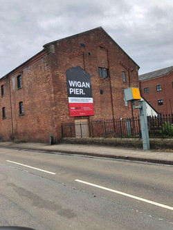 Wigan Pier Development Branding