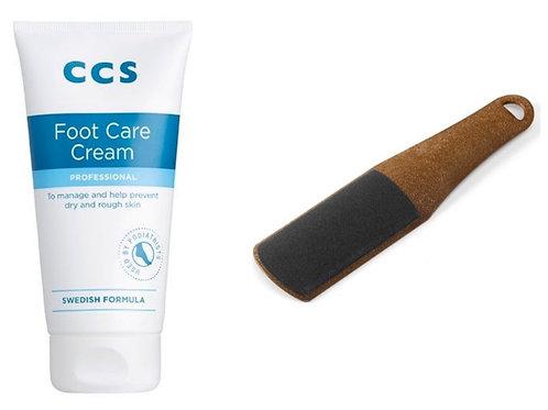 Foot File & Foot care cream