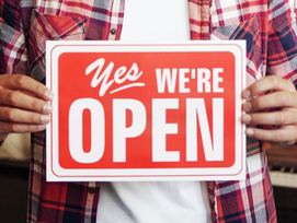 Support your Local Business — Open Businesses List