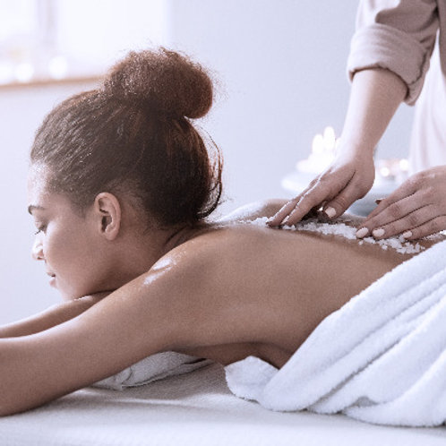 Back Massage With Deep Tissue Techniques