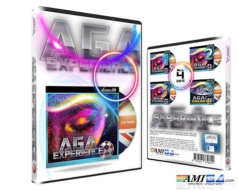 Amiga CD - AGA Experience 3D Box
