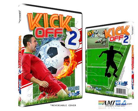 Kick Off 2 Amiga box