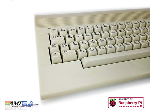Commodore 64 with Raspberry Pi & Keyrah