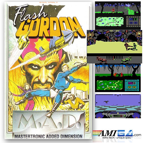 Flash Gordon for Commodore 64 (Cassette) by Mastertronic