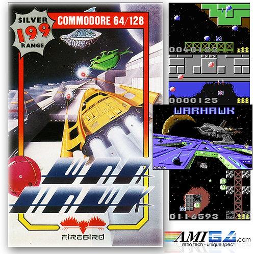 Warhawk 'Shoot'em up' for C64 (Cassette) by Firebird